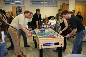 Familien-Tischfussball-Turnier, das bereits zum 2. Mal stattgefunden hat. Jedesmal beliebt und ein toller Erfolg. Organisiert von unserem aktiven MItglied Michael Luik.