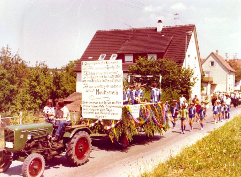 Festumzug 1976: TSV Festwagen