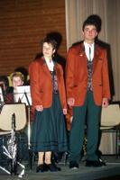 Vorstellung der neuen Uniform durch Claudia & Jürgen
