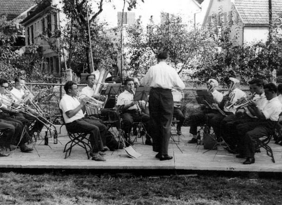 Musikfest im Pfarrgarten