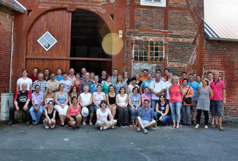 Gruppenbild vor der Abreise