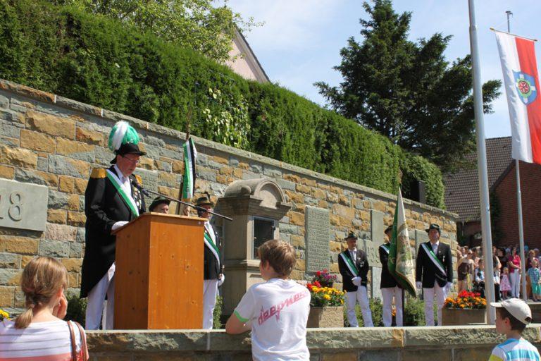 Festansprache am Ehrenmal