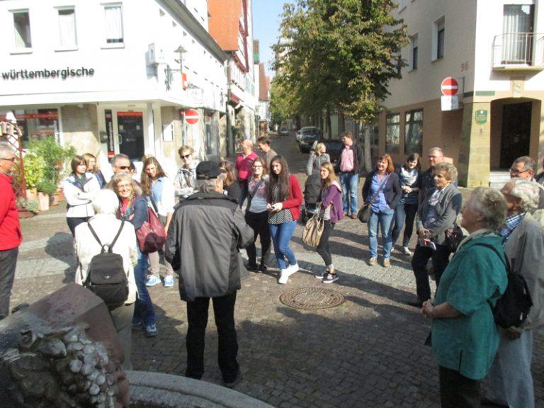 Stadtführung in Bönnigheim