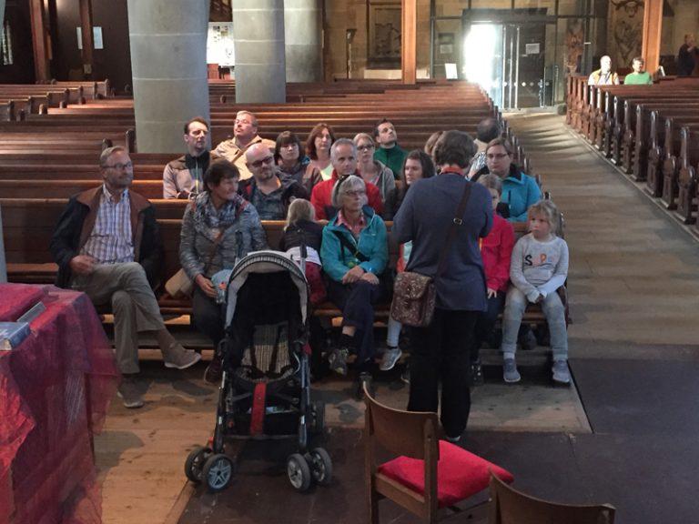 In der Stadtkirche von SHA