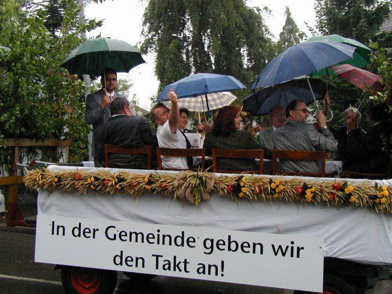 Gemeinderat - und Honorationen