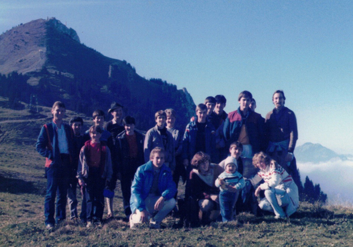 Okt. 1985:  Ausflug an den Grünten (Allgäu)