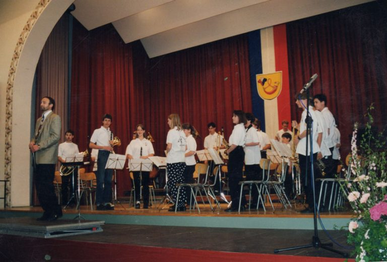 U25 beim Jugendkritikspiel in Bad Urach 1996