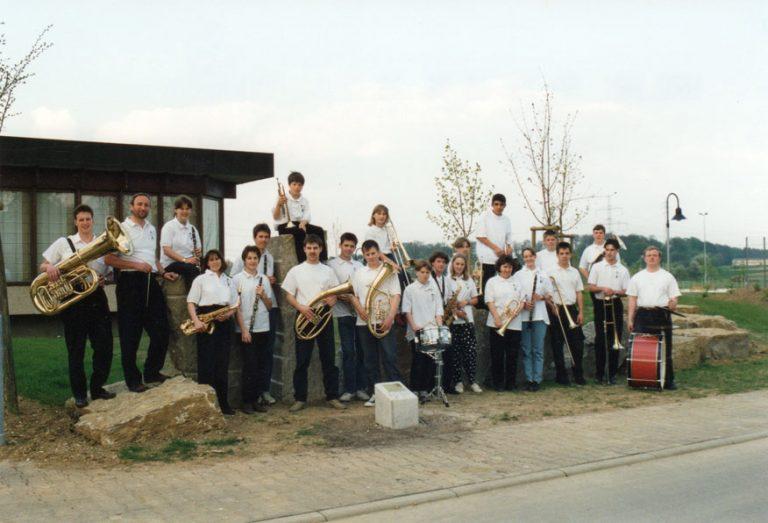 Gruppenaufnahme der U25 1995