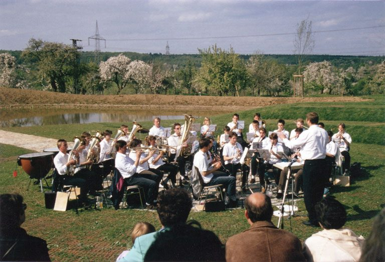 Jugendkonzert bei der Einweihung SFA Holzmaden 1996