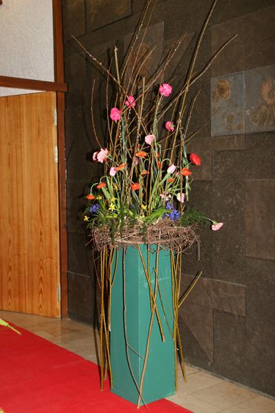 Meisterdeko vom Floristenmeister