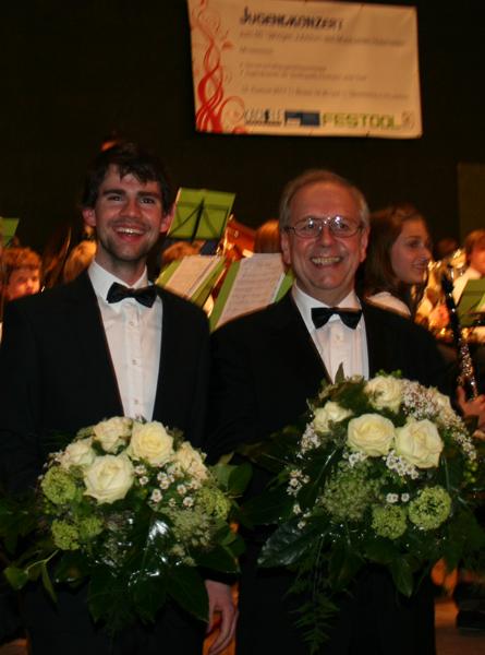 Die beiden Dirigenten
