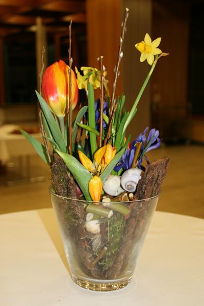 Blumenschmuck vom Meister