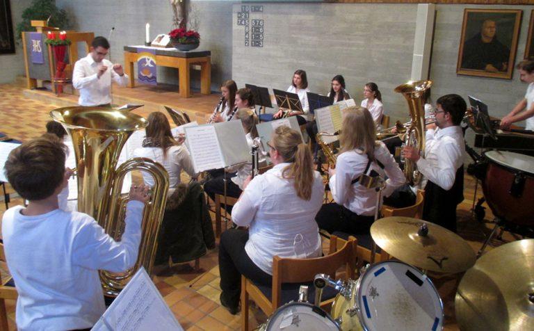 Kirchenkonzert der MVH-Jugend im Dez. 2013