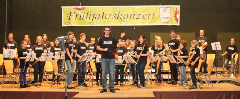 Frühjahrskonzert 2014  -  Diri: Tobias Liebrich