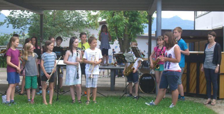 Bläserklasse + Jugendkapelle
