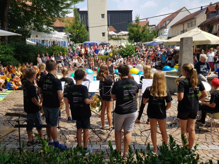 Eröffnung Bätscherfest am Sa. 7. Juli 2018