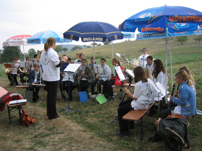 Sept. 2003: Auftritt der JuKa in Ebersbach