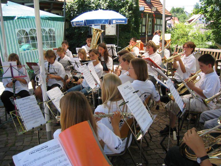 Juli 2003:  Rathaushock