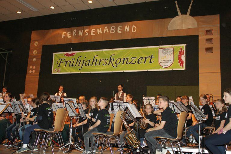 Großes Orchester beim Frühjahrskonzert am 13. April 2019